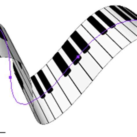 quick tip create  piano keyboard ribbon   effects