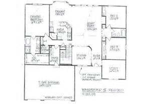 custom home floor plans gallery for gt 5 bedroom ranch house floor plans
