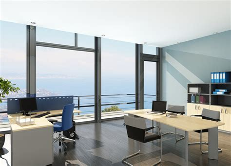 modern minimalist office modern minimalist office with french windows