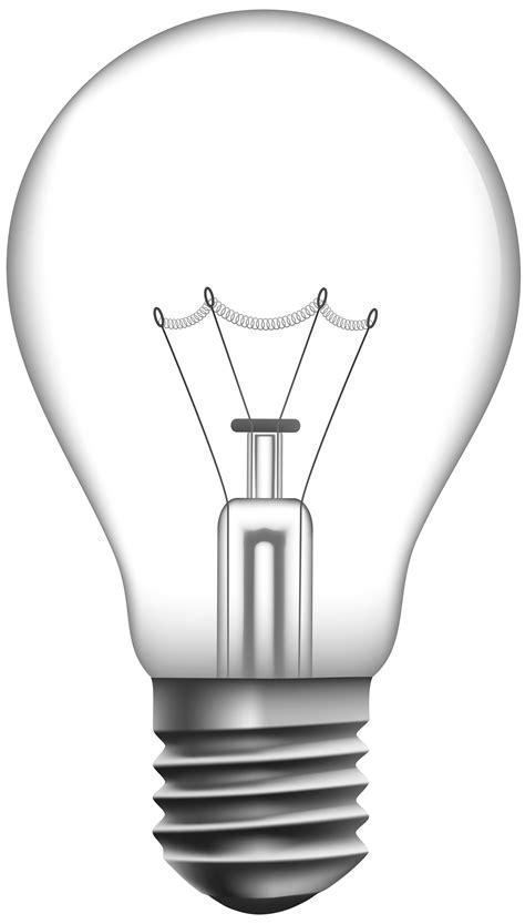Transparent Light Bulb PNG Clip Art - Best WEB Clipart