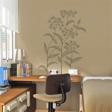 inspirasi desain wallpaper  stiker dinding rumah