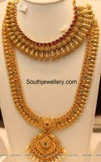 mala design gold mango haram jewellery designs