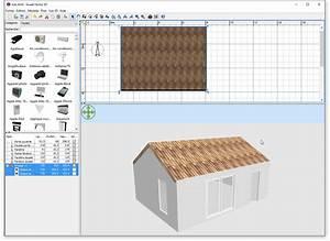 comment ajouter un toit dans sweet home 3d With maison sweet home 3d 3 construction de la maison en 3d avec sweet home 3d