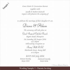free wedding invitation wording samples truly madly With wedding invitation quotes from parents