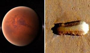 ALIENS ON MARS? UFO mothership is on Red Planet, claim ...