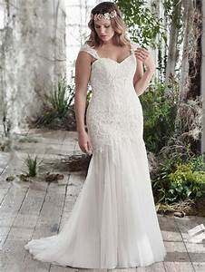what are the best solutions for plus size brides tips on With fitted plus size wedding dresses