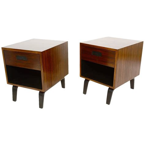 mid century modern nightstands mid century modern nightstands by clifford pascoe for