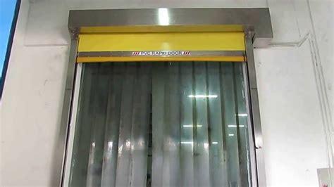tirai plastik high speed door pvc strips sheet at indofood tiraipvc youtube