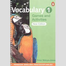 Vocabulary Games And Activities 1 (penguin Books, 2nd Ed