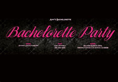 bachelorette party invitation ideas evite
