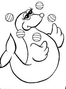 Water Animals Coloring Pages