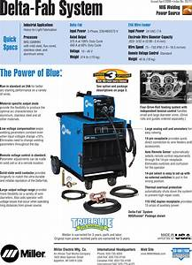 Miller Electric Deltaweld Series Users Manual A Dc15