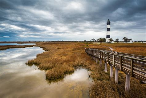 Outer Banks North Carolina Bodie Island Lighthouse ...