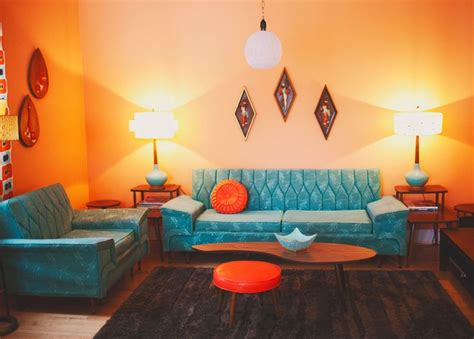 Retro Living Room Yellow by Retro Living Room