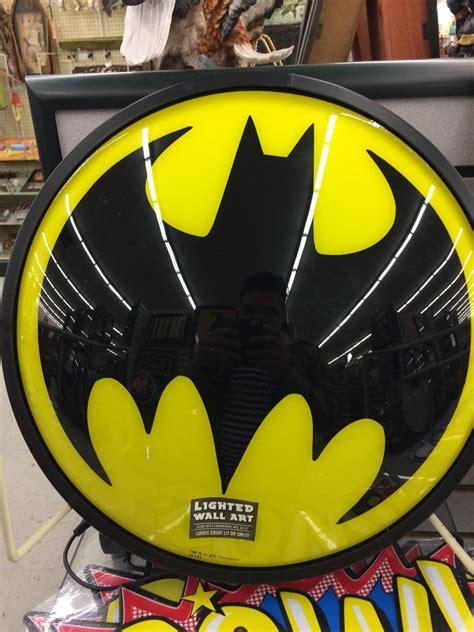 batman wall light at hobby lobby batman universe