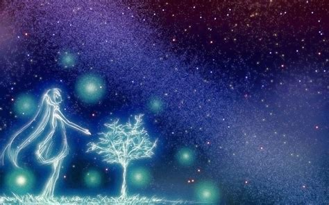 Starry Sky Anime Wallpaper - hatsune miku wallpaper and background image 1440x900