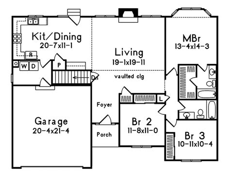 Photos And Inspiration One Story Home Plans With Walkout Basement by Small One Story House Plans Small One Story House Plans