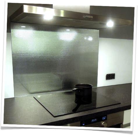 Crédence Verre Trempé Cuisine - credence de cuisine en verre trempe master carré argenté