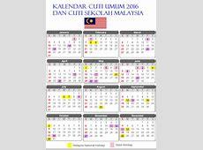 Jadual Cuti Umum Negeri Johor 2016 Shainginfoz