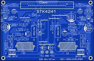 Stk4241 Stk4201 Stk4221 Stk4211 Stk4231 Amplifier Circuit