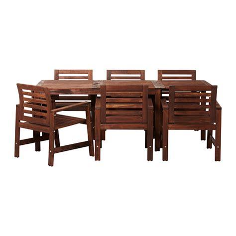 Table De Jardin Ikea Applaro by 196 Pplar 214 Table 6 Chaises Accoud Ext 233 Rieur Ikea