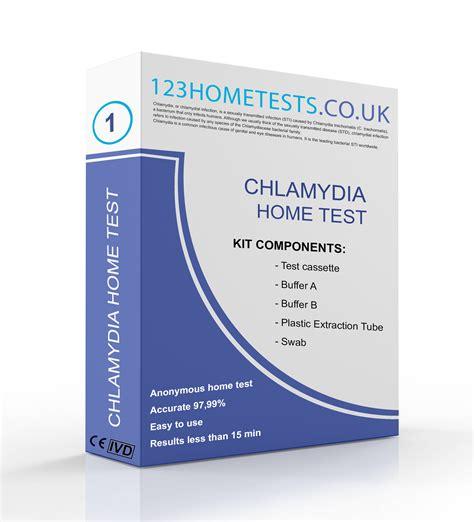 Chlamydia Test  123 Home Test