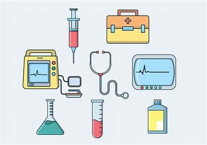 Medical Vector Equipment Clipart Defibrillator Vectors Resources