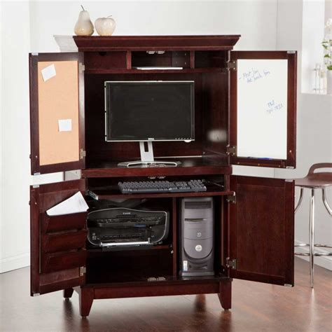 small computer desks for home armoire inspiring small computer armoire design home