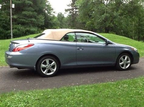 2008 Toyota Solara Convertible by Sell Used 2008 Toyota Solara Convertible Sle In Doylestown