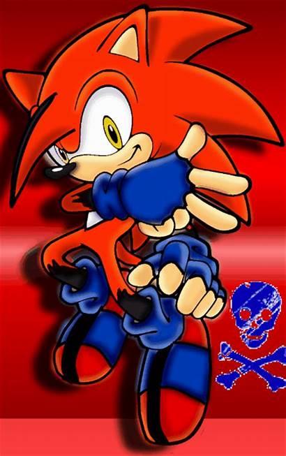 Flame Hedgehog Sonic Recolors Deviantart Fire Dark