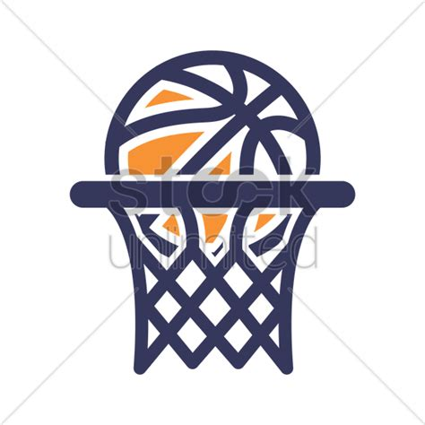 Basketball Net Clipart by Basketball Hoop Icon Vector Image 1984920 Stockunlimited