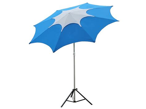 shop for blue fiberglass rib patio umbrella with