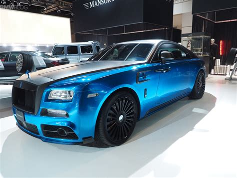 mansory rolls royce mansory brings a custom painted rolls royce and a carbon