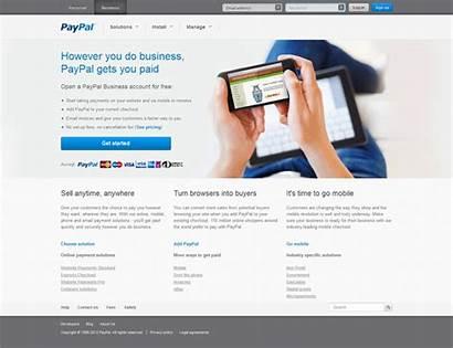 Paypal Website Revamp Tamebay