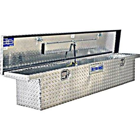truck bed tool storage aluminum low profile size slimline tool box toolbox ebay
