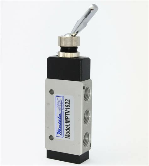 Pneumatic Air Switch Toggle Valve Npt Detented