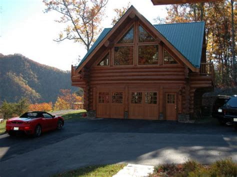 log cabin garage log cabin with garage log garage with apartment plans log