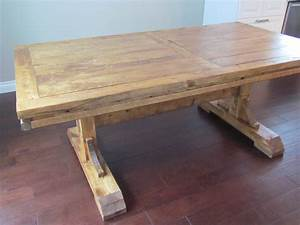Ana White Double Pedestal Farmhouse Table - DIY Projects