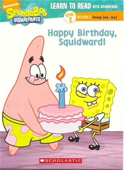 happy birthday squidward  joelle murphy