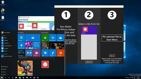 customize windows  start menu    party apps