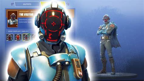blockbuster skin unlocked fortnite visitor