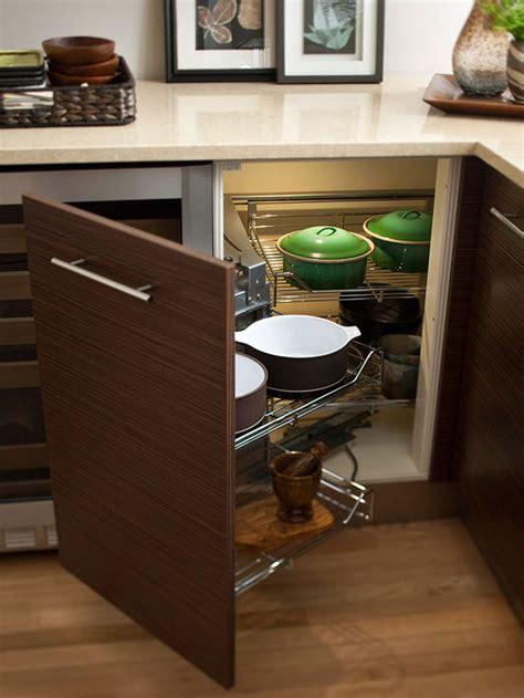 Kitchen Corner Cabinet Storage Ideas by Corner Cabinet Storage Ideas Bloggerluv