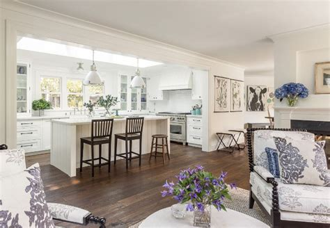 white open kitchen white kitchen design ideas home bunch interior design ideas 276 | White kitchen layout. White kitchen open to living room layout. White kitchen open to living room layout ideas. Whitekitchen open livingroom layout. Heydt Designs.