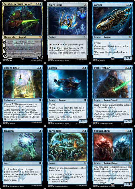 Magic The Gathering Meets Starcraft In Amazing Custom
