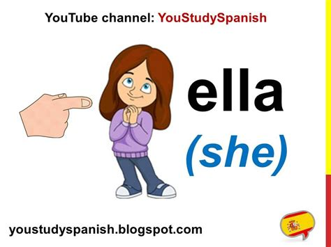 Subject Pronouns In Spanish Yo Tú Usted