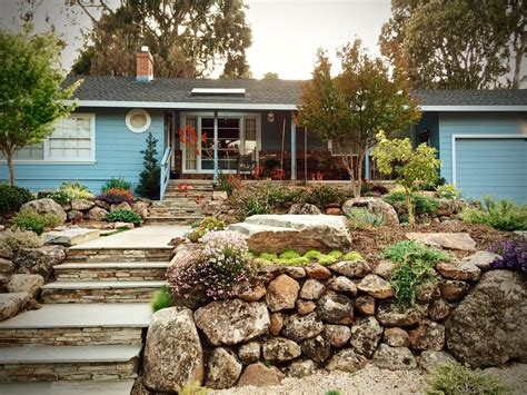 Suburban Backyard Landscaping Ideas by Create A Beautiful Drought Resistant Front Yard