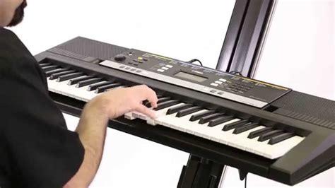 yamaha keyboard psr yamaha psr e243 61 key personal keyboard yamaha psr e243
