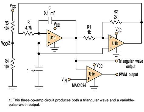 Pwm Circuit Diagram Using Amp Schematics
