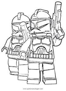lego star wars  gratis malvorlage  comic