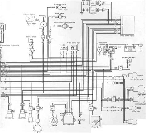 starting wiring diagram 97 honda f4 exle electrical